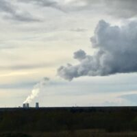 Leningrad NPP is a cloud generator